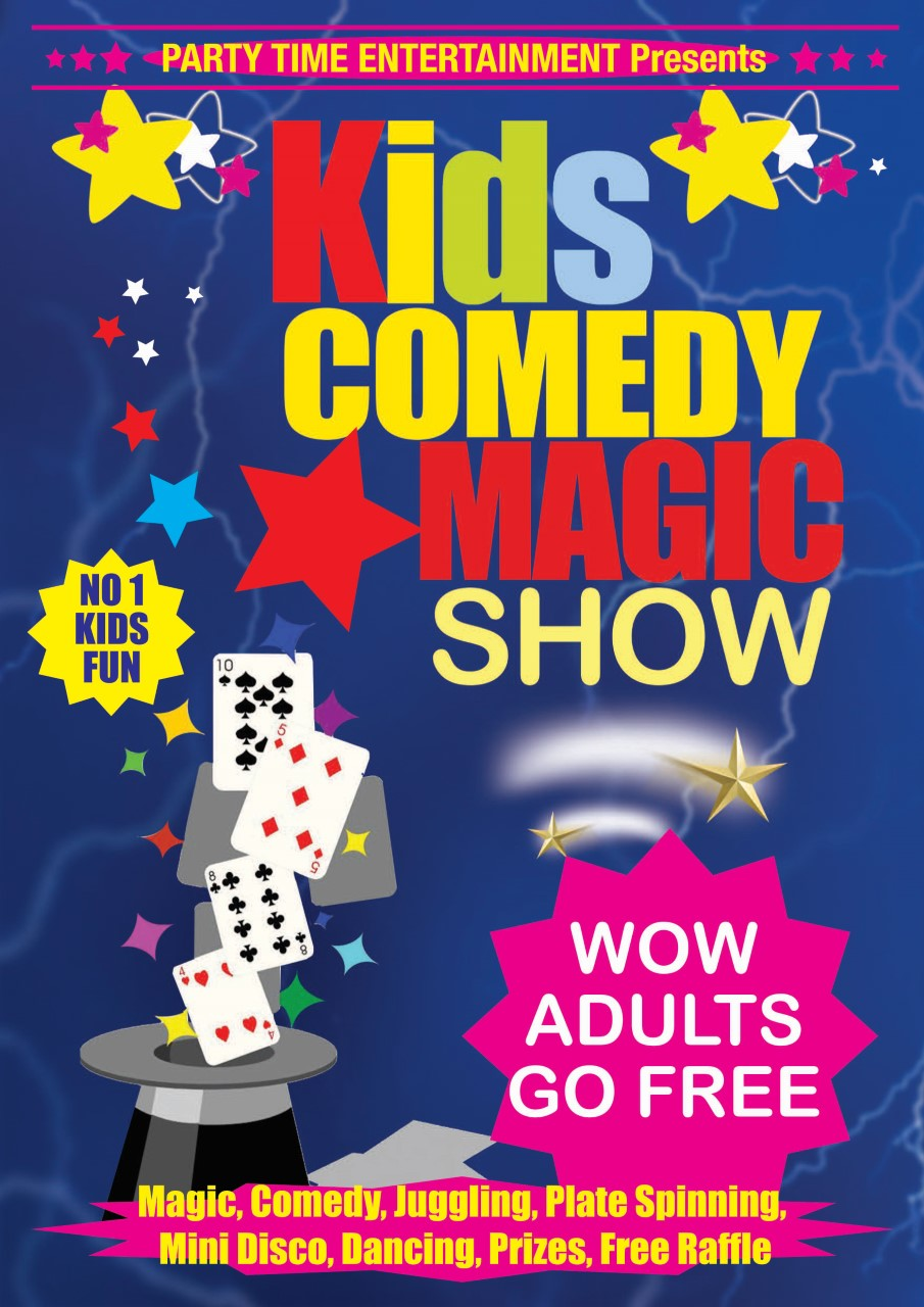 Kids Comedy Magic Show Tour